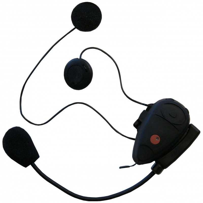 Kit mains-libres Bluetooth avec radio FM et intercom pour moto & scooter • X11ML
