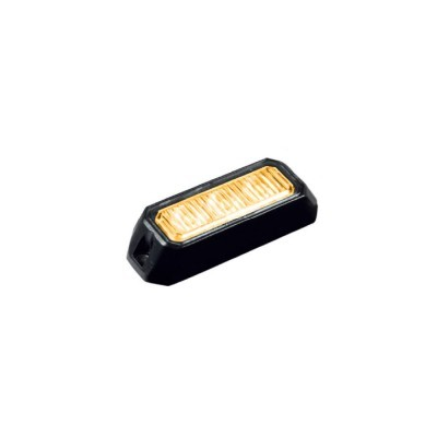 Feu à éclat LED orange 9W •...