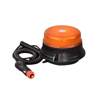 ORANGE magnet base strobe...