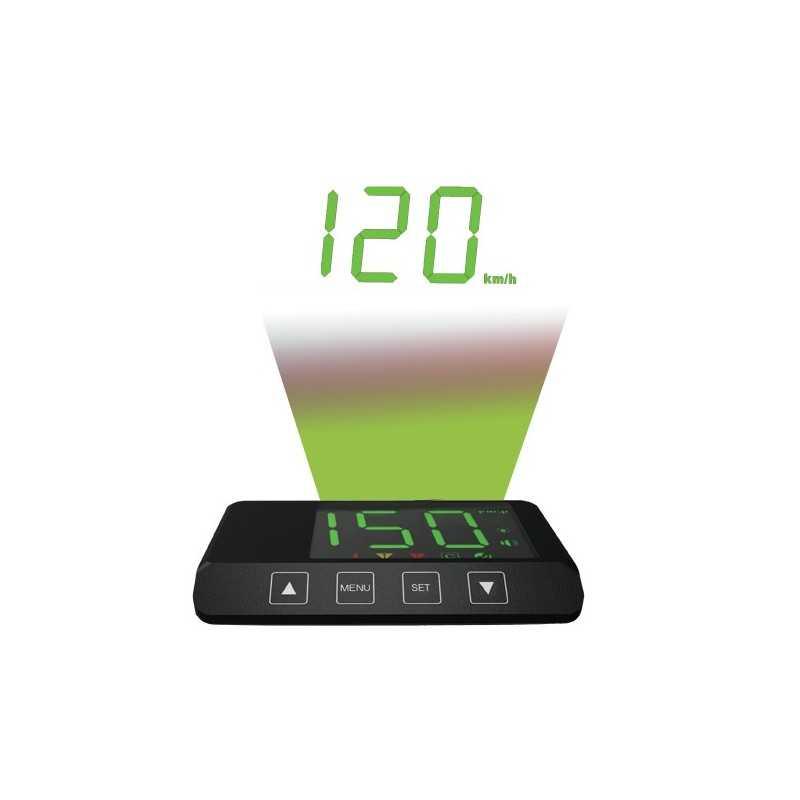 Compteur vitesse GPS avec afficheur tête-haute • RE599HUDGPS
