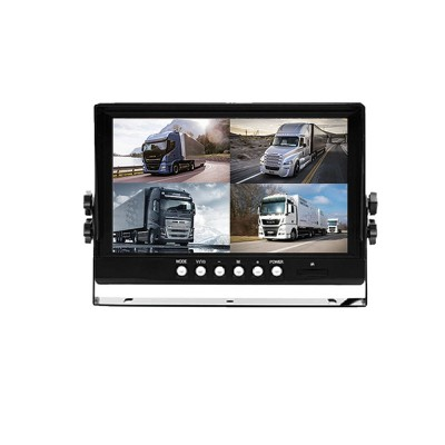 9'' DVR monitor QUAD AHD