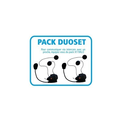 Pack DUOSET - 2 Kits...