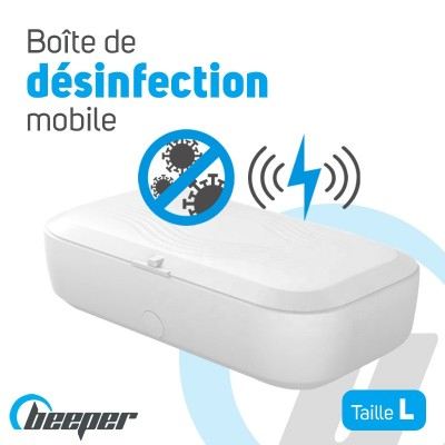 Mobile disinfection box