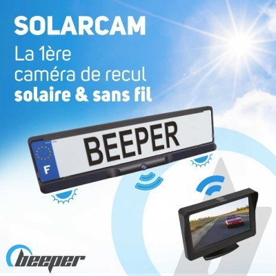 Solar rearview video set on...