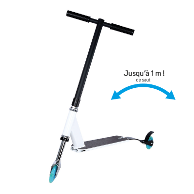 Freestyle scooter • White-Blue