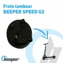 Frein à tambour pour trottinette BEEPER SPEED • FX8-SP07