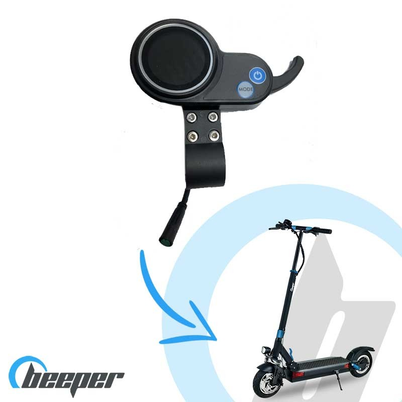 Afficheur LCD pour trottinette BEEPER MAX • FX10-SP06