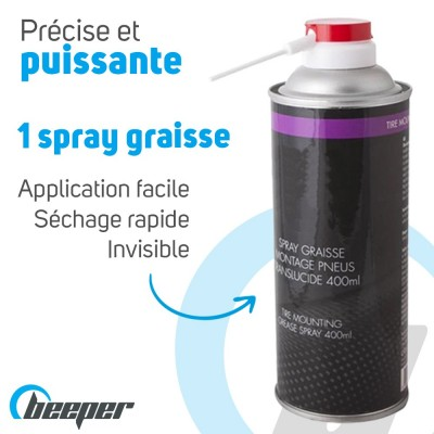 Spray of grease 400 ml for...