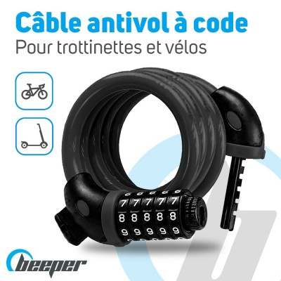 Scooter & bikes cable 12,5...