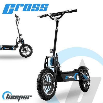 Electric cross scooter •...