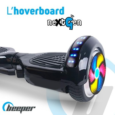 Electric hoverboard 6,5'' •...