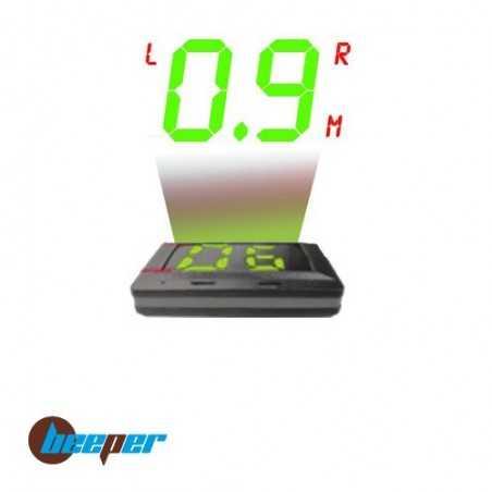 RE999HUDS • Radar de recul & vitesse  avec afficheur tête haute