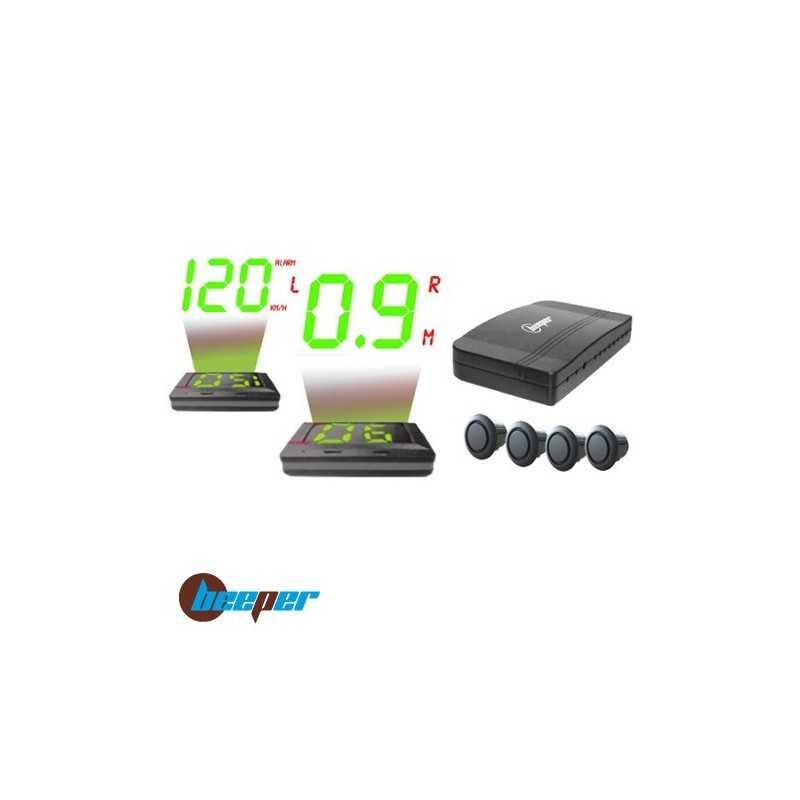 Radar de recul & vitesse avec afficheur tête-haute • RE999HUDS