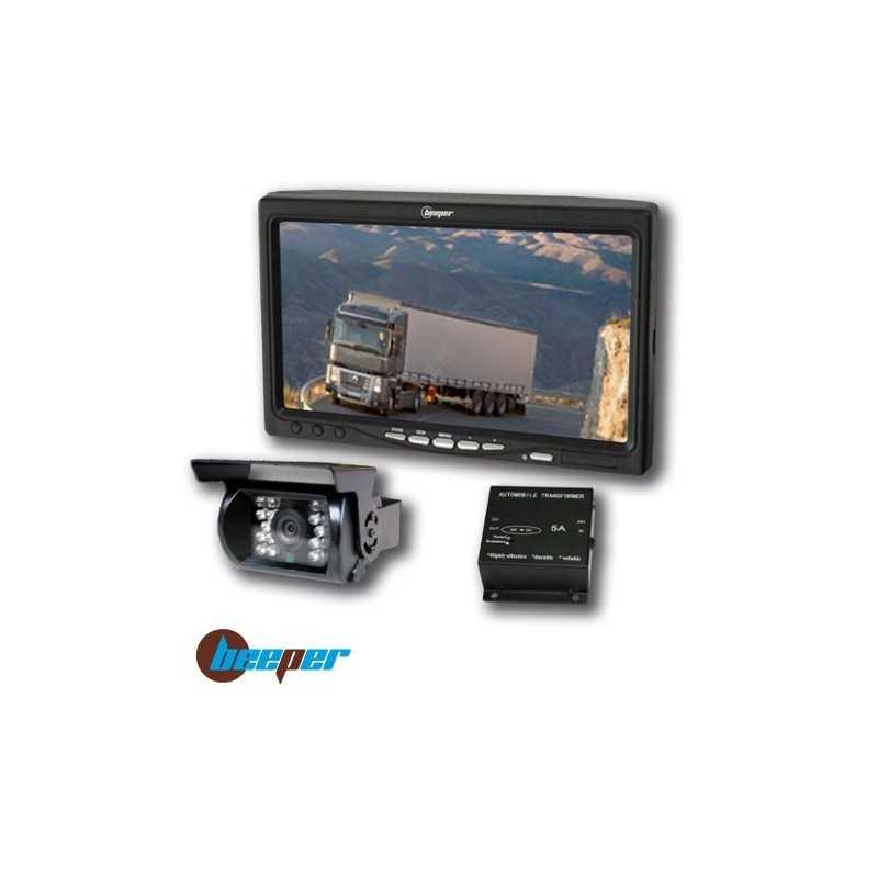 Combiné de rétrovision / Vidéo de recul (24V) • RWEC99X/24