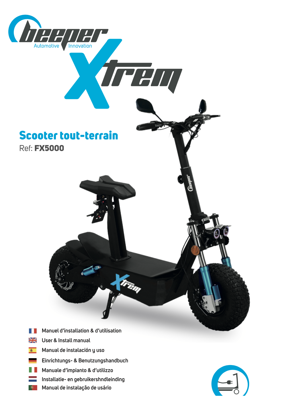 Trottinette électrique XTRE - Manuel d'utilisation