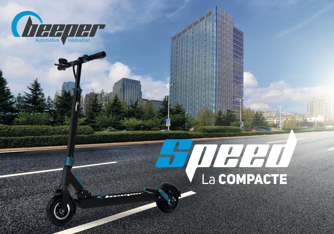 Trottinette électrique Beeper SPEED G2 - Plaquette de présentation