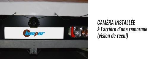 Instalación de la cámara de marcha atrás H1RF
