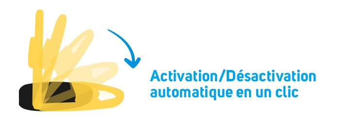 Activation sans fil