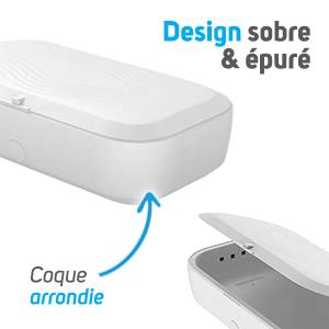 Boîte désinfection mobile UV design