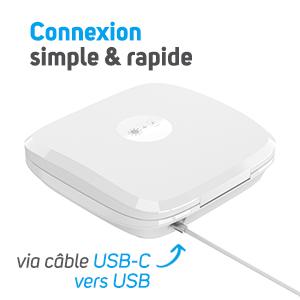 NCOV205 - Connexion USB-C ultra facile et pratique
