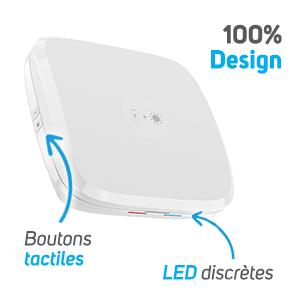 NCOV205 - Boîte recharge et désinfection smartphone design