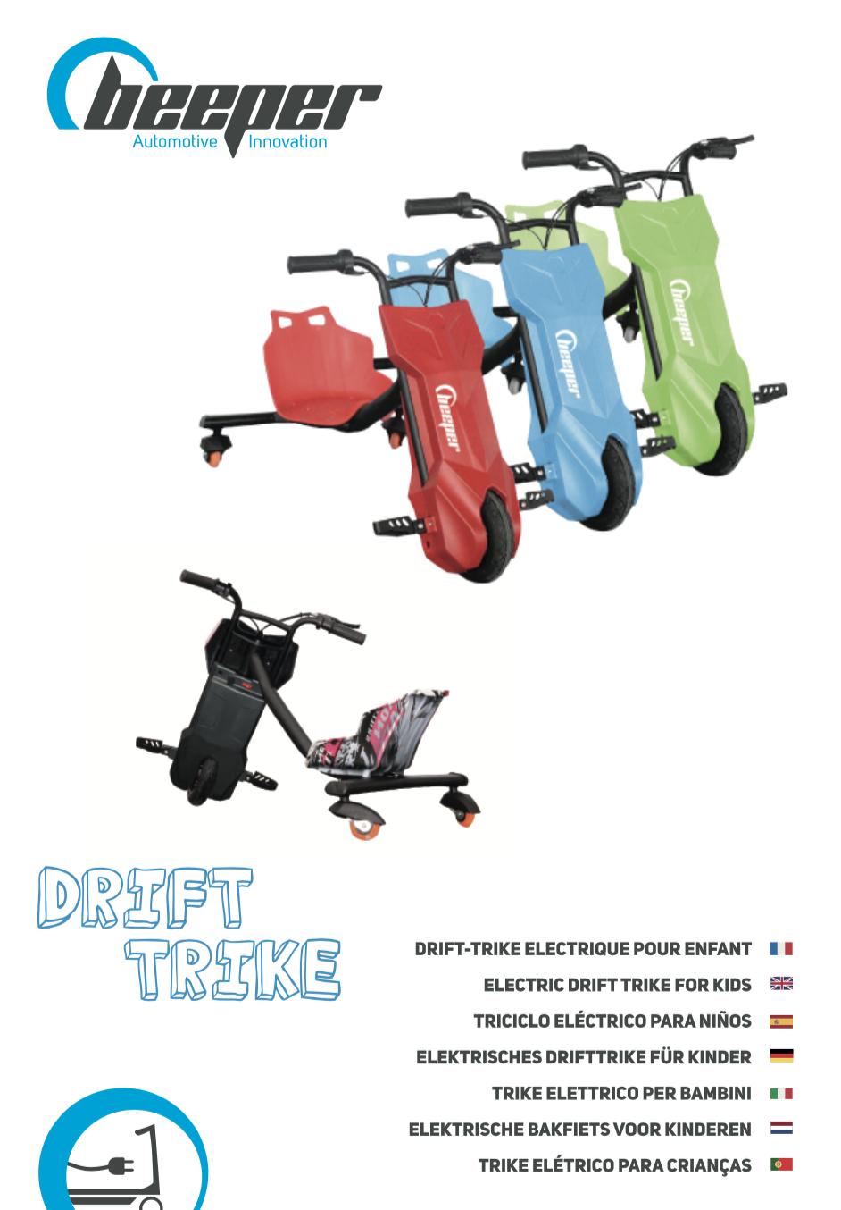 Manuel drift-trike kids Beeper