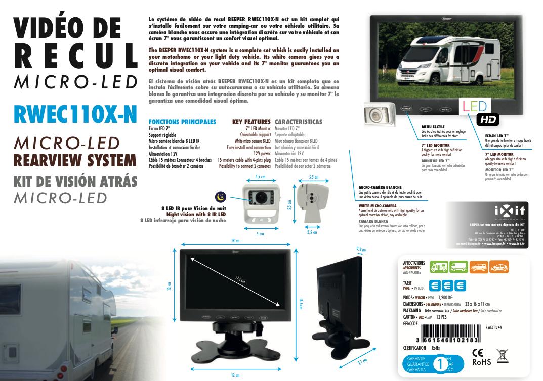 Fiche produit RWEC110X-N